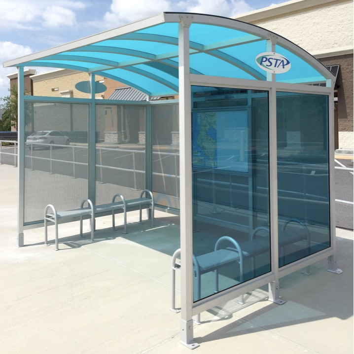 Bus Shelter | Arched