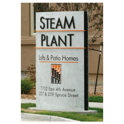 Signage | Destination | Steam Plant Lofts