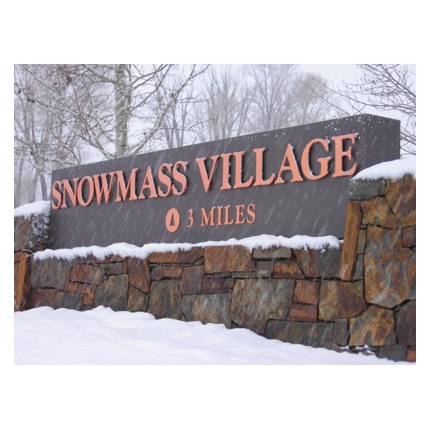 Signage | Destination |  Snowmass Village