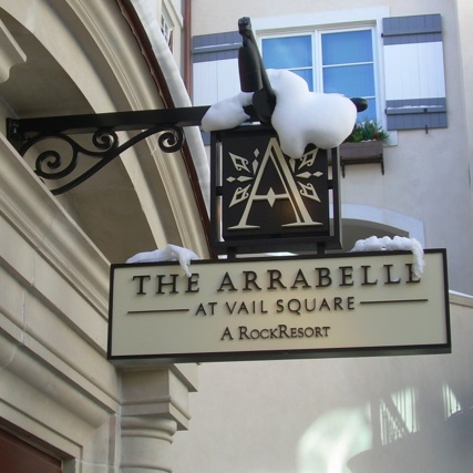 Signage | Destination | The Arabelle at Vail