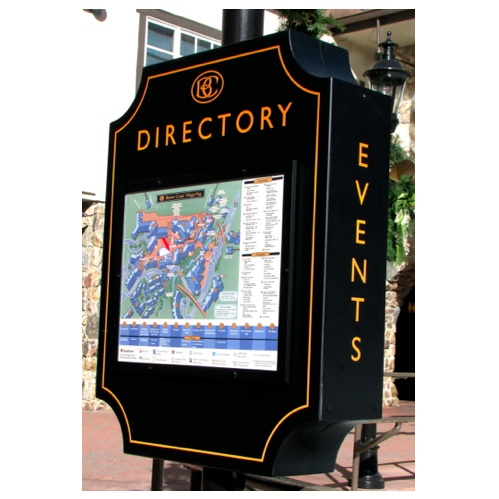 Signage | Directory | Wayfindnig | Resort | Beaver Creek Resort