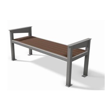 Terrific Bus Seat Bench Aspen Streetscapes Machost Co Dining Chair Design Ideas Machostcouk