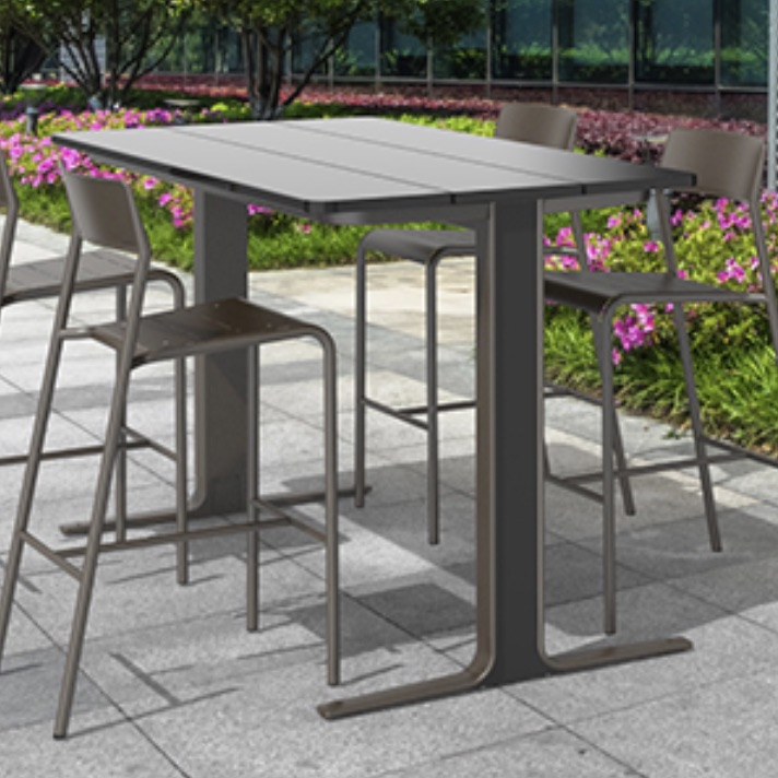 Outdoor Bar Table | Ancora Steel
