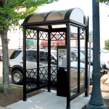 Bus Shelter | TVM | Barrel