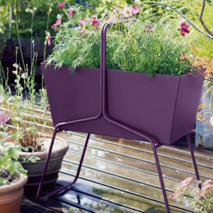 Steel Planter | Basket | High