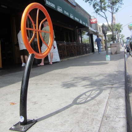 Bike Parking | Bike Rack Art | Basketball
