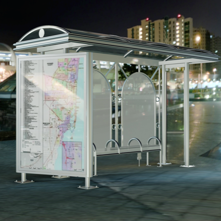 Bus Shelter | Bay Curved