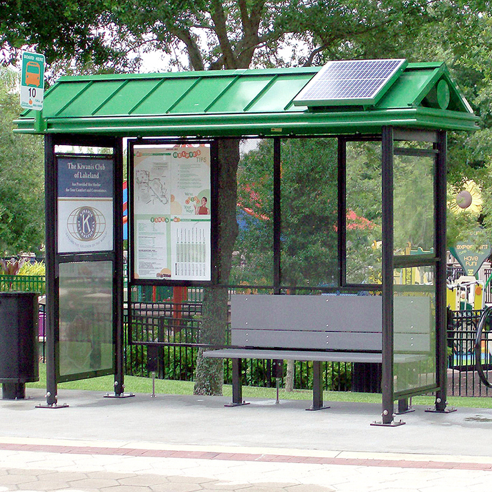 Bus Shelter | Bay Gable
