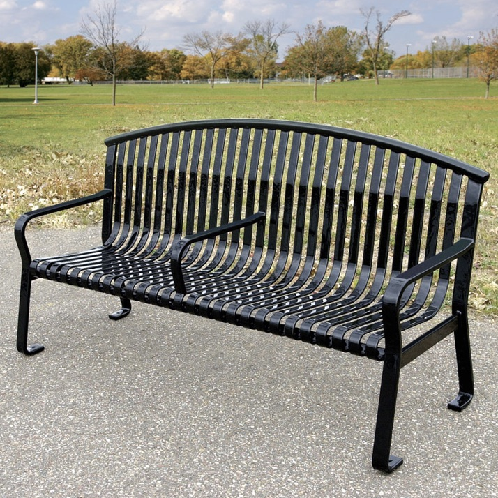 Park Bench | Curved Back