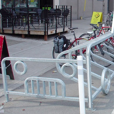 Car Bicycle Corral