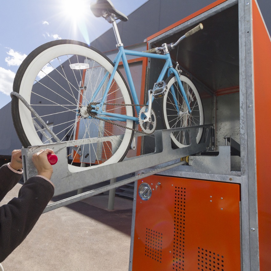 Bike Locker | Steel | Two Tier