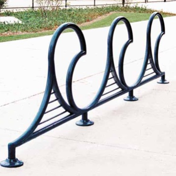 Bike Parking | Bike Rack Art | Wave