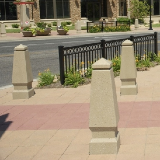 Bollard | Concrete | Tapered | 6038