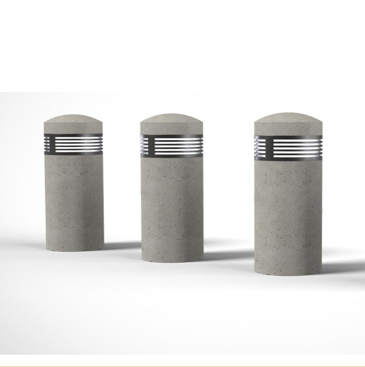 Bollard | Concrete | LED Dome | Jardin