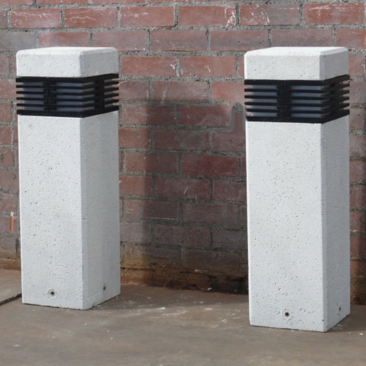 Bollard | Concrete | LED Square | Jardin