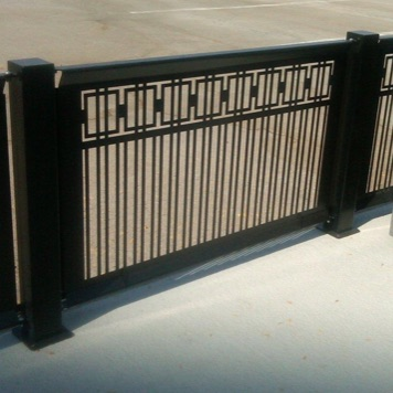 Cafe Fence | Aluminum | Box