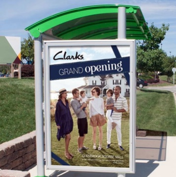 Bus Stop | Ad Display