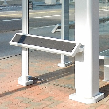 Bus Shelter | Leaning Rail