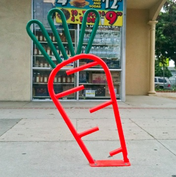Bike Parking | Bike Rack Art | Carrot