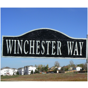 Street Sign | Decorative | Cherry Hill | 28x10