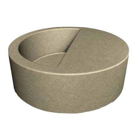 Concrete | * Select | Round | HP