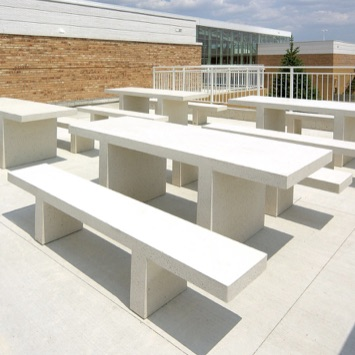 Community Table | Concrete | Rectangle | 3225