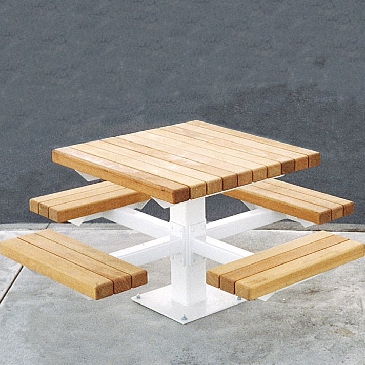 Community Table | Wood | Square | Metro