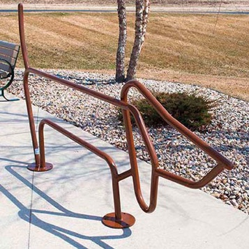 Bike Parking | Bike Rack Art | Daschshund