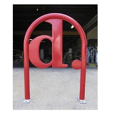 Bike Parking | Logo Rack | DC