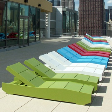 Deck Seating | 405 Chaise