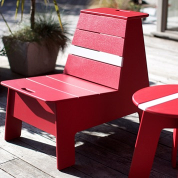 Deck Seating | Racer Lounge Chair