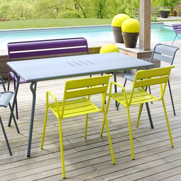 Deck Table | Rectangle | Monceau 4831