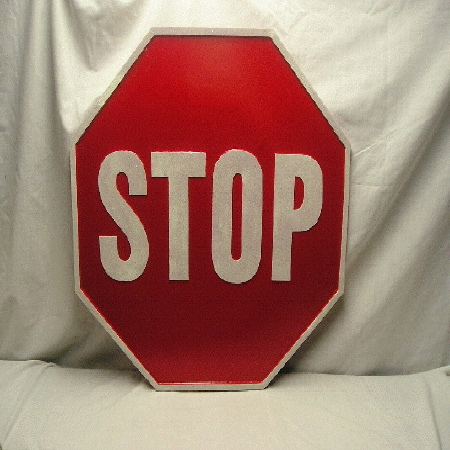 Street Sign | Stop Sign - 24