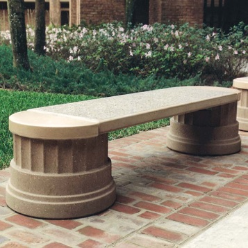 Precast Bench | Deerfield