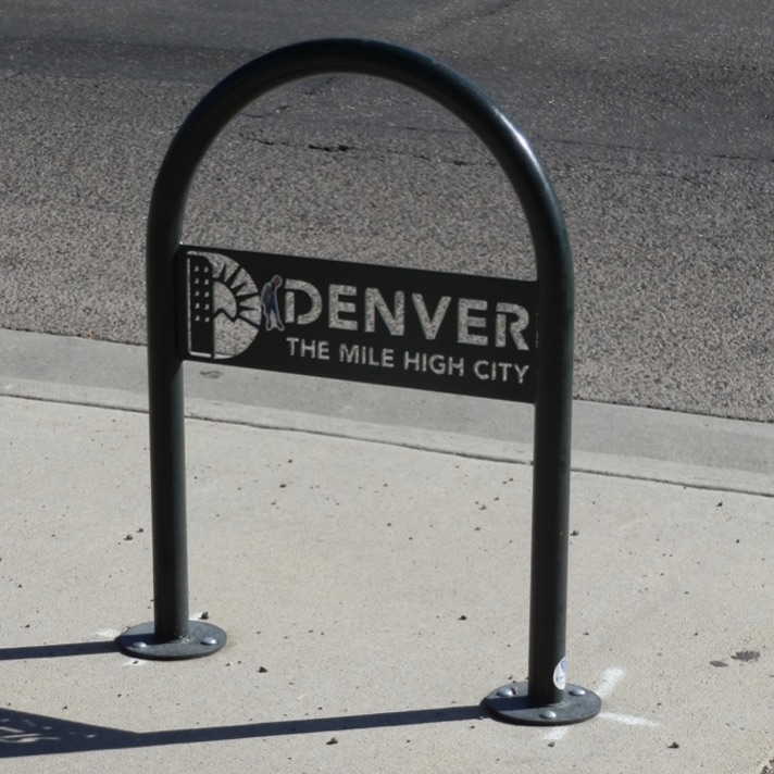 Bike Rack | Denver Logo Hoop