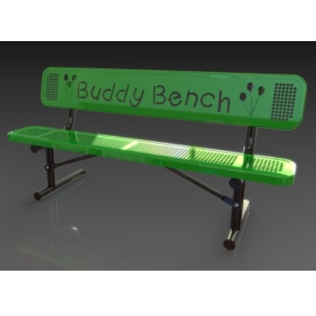 Dog Park | Bench | Buddy