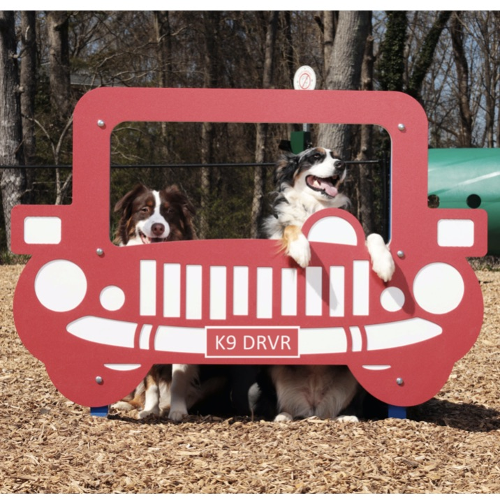 Dog Park Photo Frame | Joy Ride