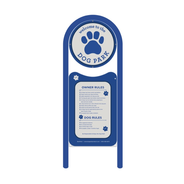 Dog Park | Welcome Sign 478
