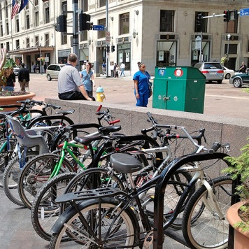 Bike Corral | Downtown Rack