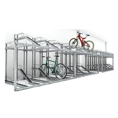 Bike Rack | Elevated | Duplex