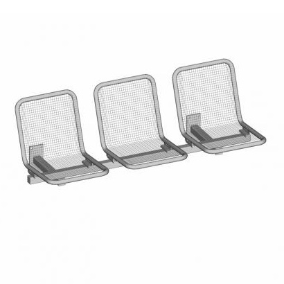 Allegro Passenger Seating System - 3 Seat - WM