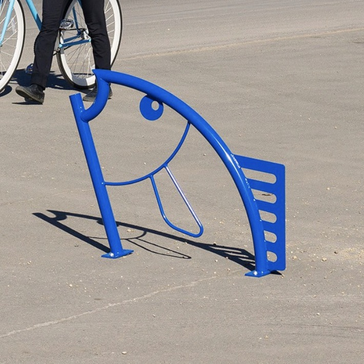 Bike Parking | Bike Rack Art | Flying Fish 2