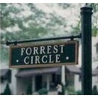 Street Sign | Decorative | Forest Circle