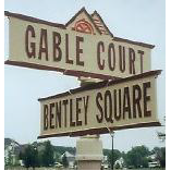 Street Sign | Decorative | Gable  | 26x7