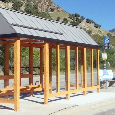 Bus Shelter | Slim Gable
