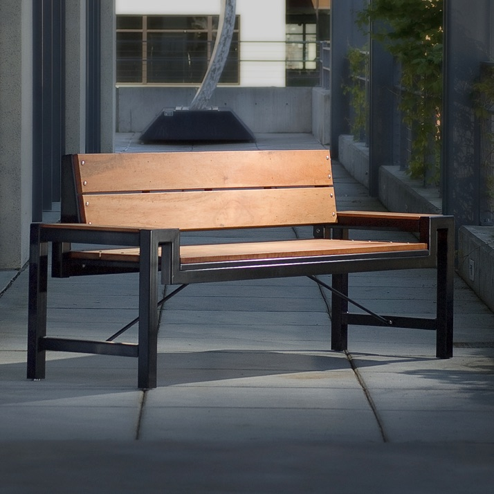 Wood Bench | Galleria