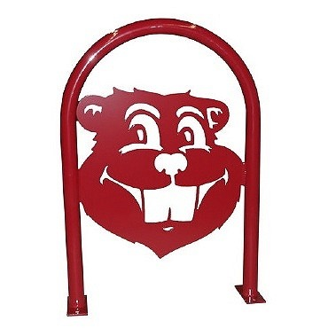 Bike Parking | Hoop Art | Gopher