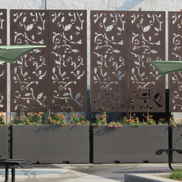 Green Wall | Wilshire FRP Screen