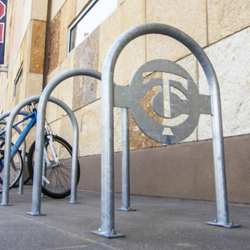 Bike Parking | Logo Rack | TC