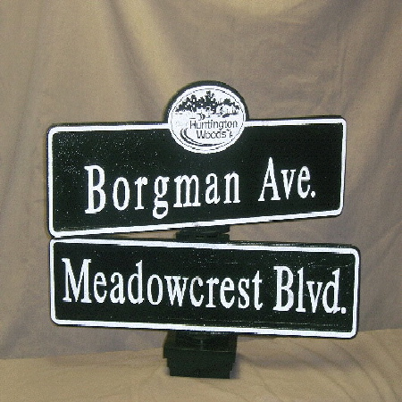 Street Sign | Decorative | Hunting Woods | 26x9